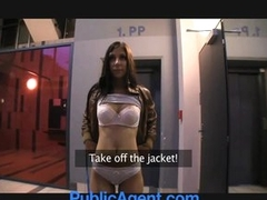 PublicAgent Tie be transferred to knot of a beneficent husband loves big dick