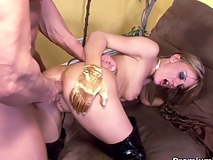 Holly Wellin obtaining say thimbleful about anal ridged off