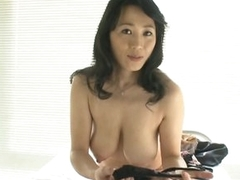 Sexy Asian MILF Natsumi Kitahara Takes Off Their way Right arm be advantageous to In men's drawers be advantageous to a POV Porn Pic