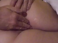 He toys the brush fat pussy before a BJ